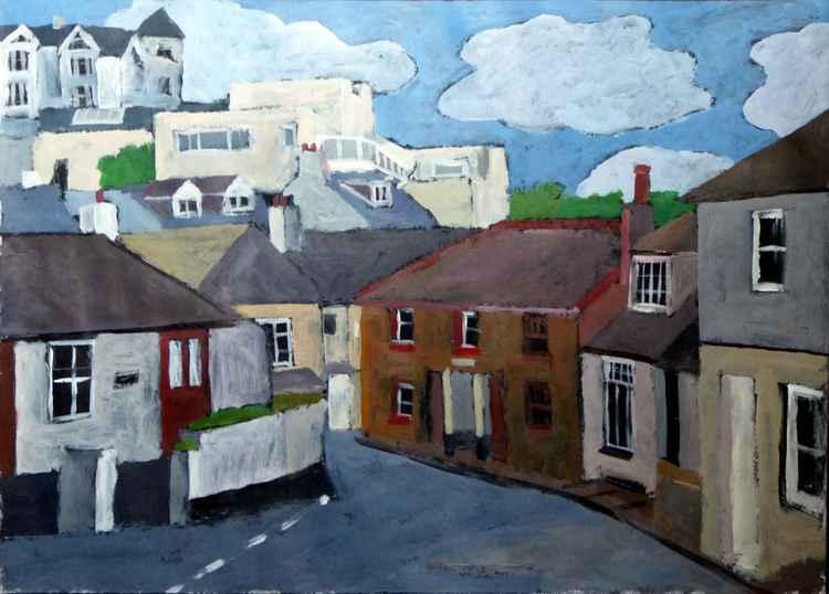 Back Road West, St Ives. -