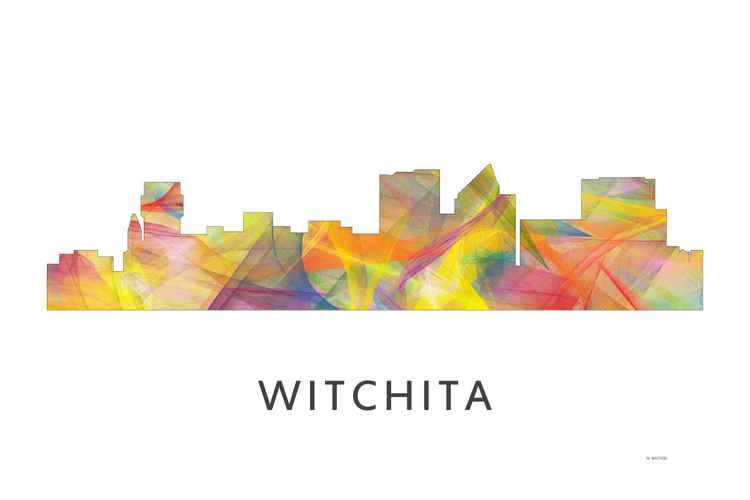 Witchita Kansas Skyline WB1 -