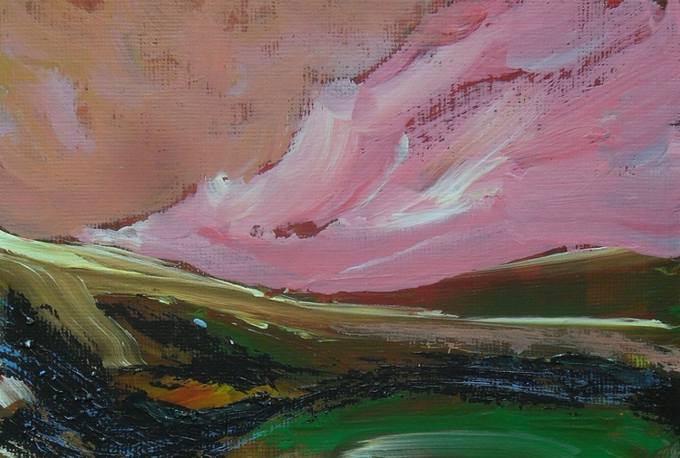 Track With Pink Skies - Image 0