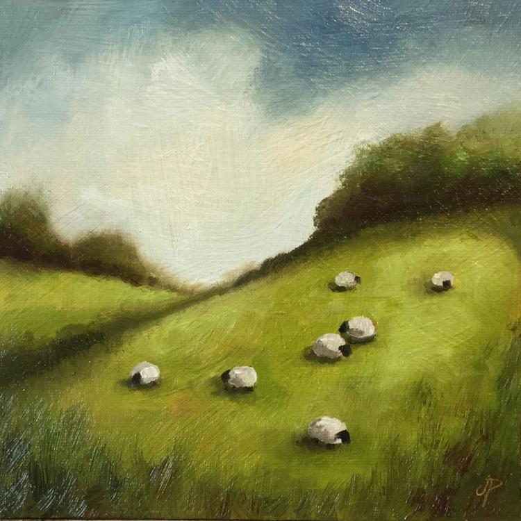Hillside Sheep - Image 0