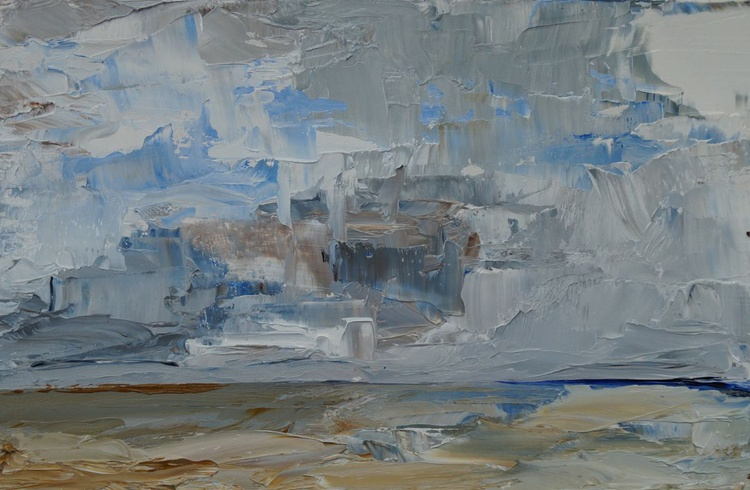 Sea and Sky at Whitstable - Image 0
