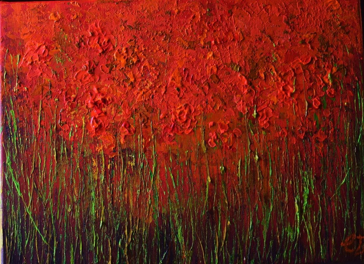 The Red flowers - Image 0