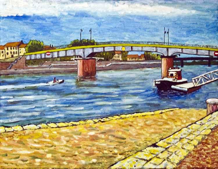 Bridge at Arles -