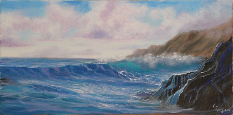 "Ocean Vista 24x12"" - Image 0"