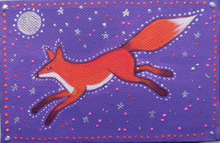 Leaping Fox - Image 0