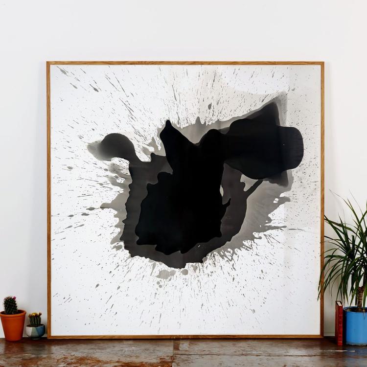 Original Abstract Darkroom Black and White Work - Image 0