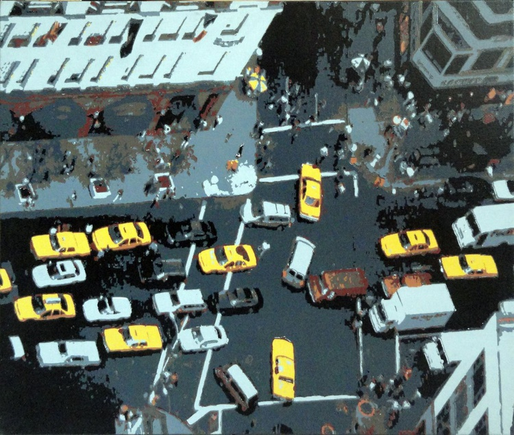Aerial View of New York Traffic - Image 0