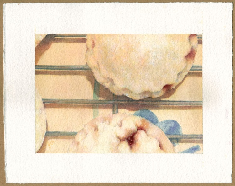 """'Mince Pies 2' / 7"""" × 5"""" - Image 0"""