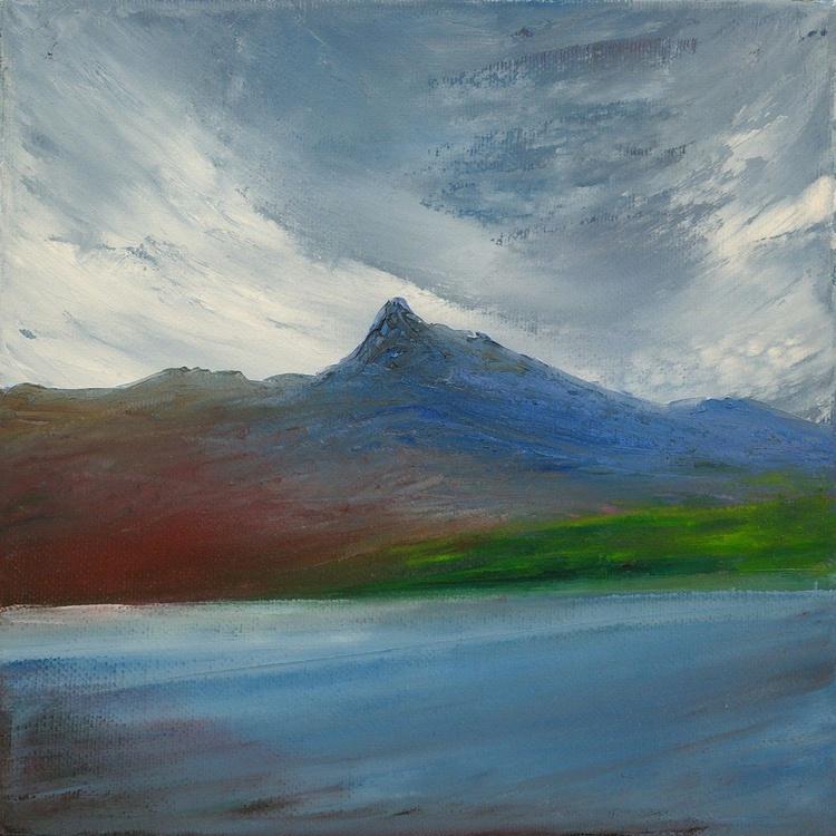 Across Assynt, Scottish mountain landscape - Image 0