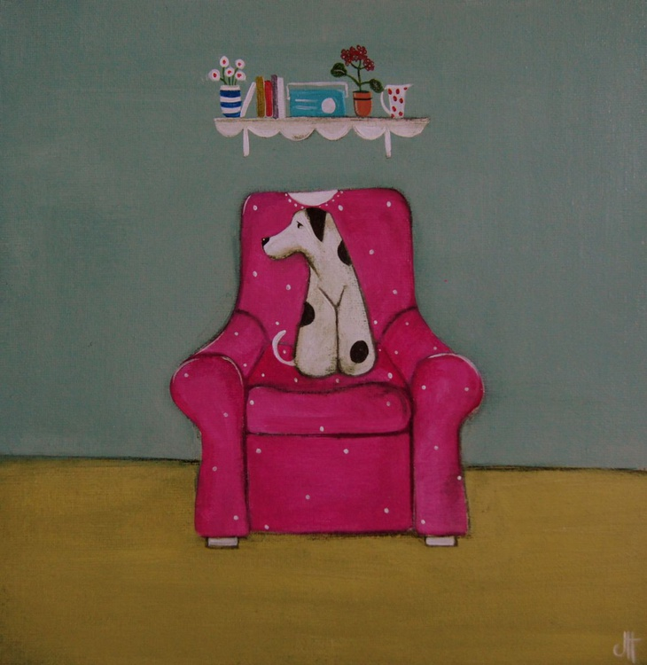 Molly and the Comfy Pink Chair.., - Image 0