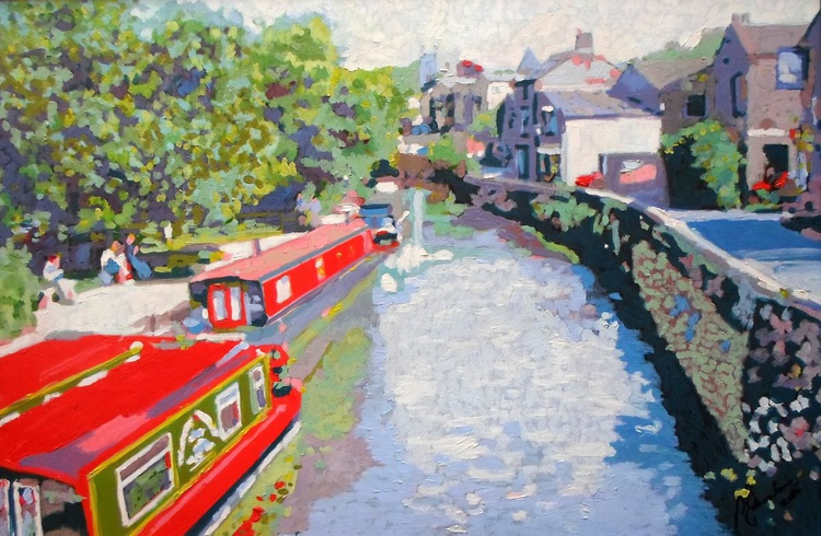 Canal at Skipton - Image 0