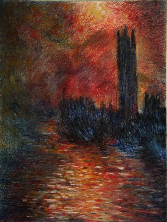 LE PARLEMENT, LONDRES - (After CLaude Monet) - Image 0