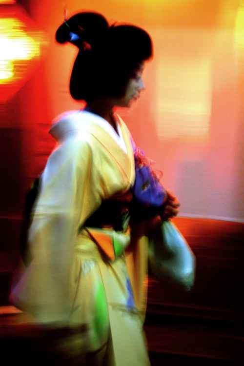 Geisha in Yellow