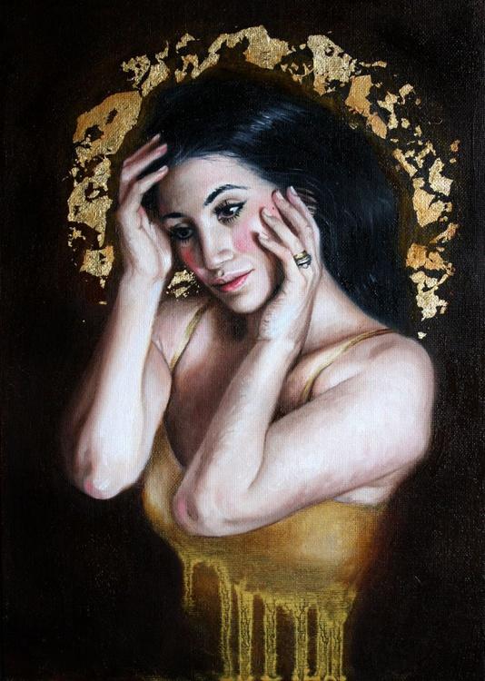 Goddess in Gold - Image 0