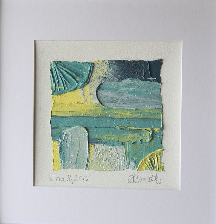 Highly Textured Original Oil Knife Paintings - Image 0