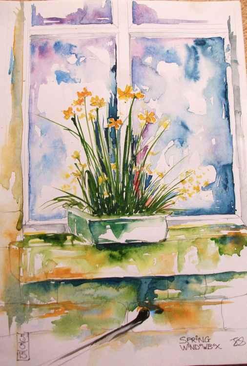Spring Windowbox -