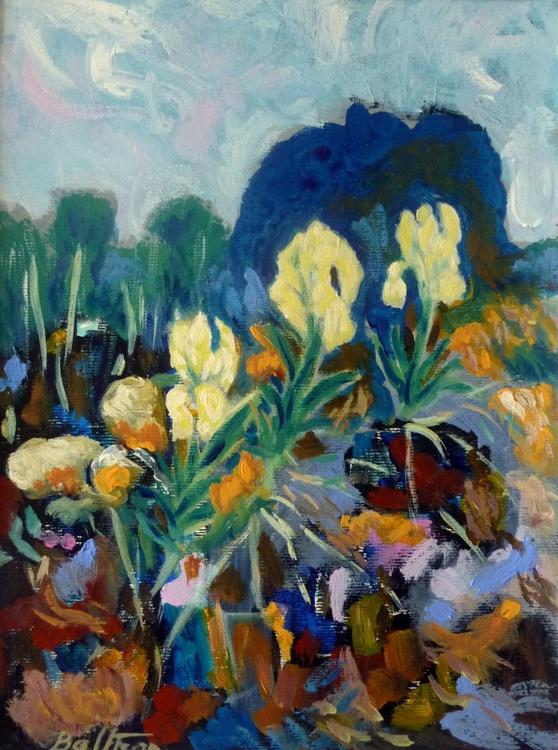 Les iris sauvages/La Provence - Image 0