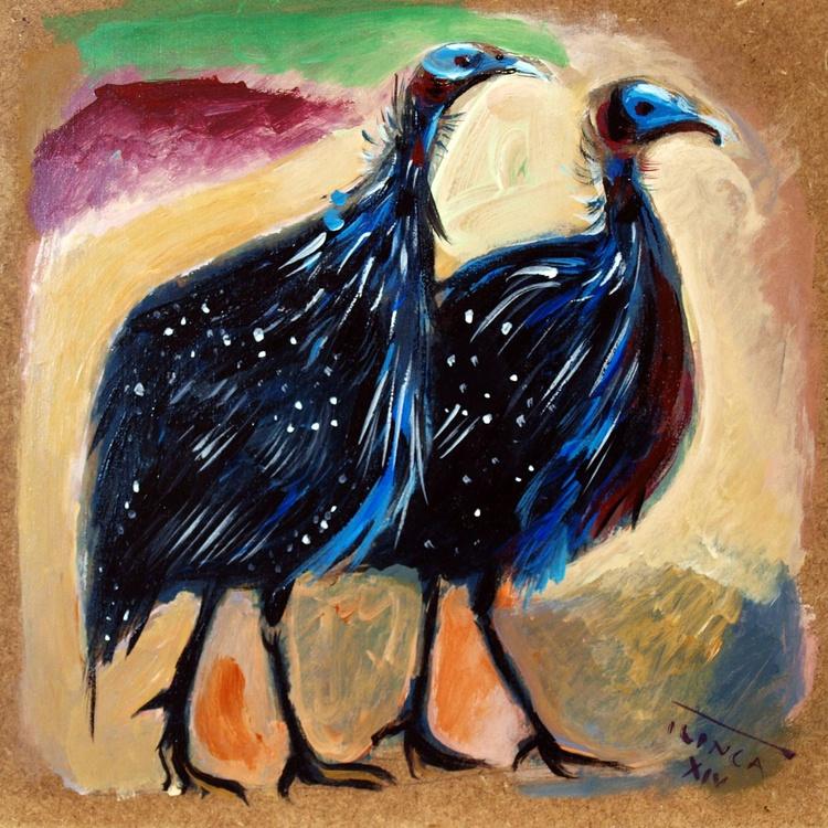pair of vulturines - Image 0