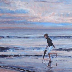 Alice on the Beach by David Pott