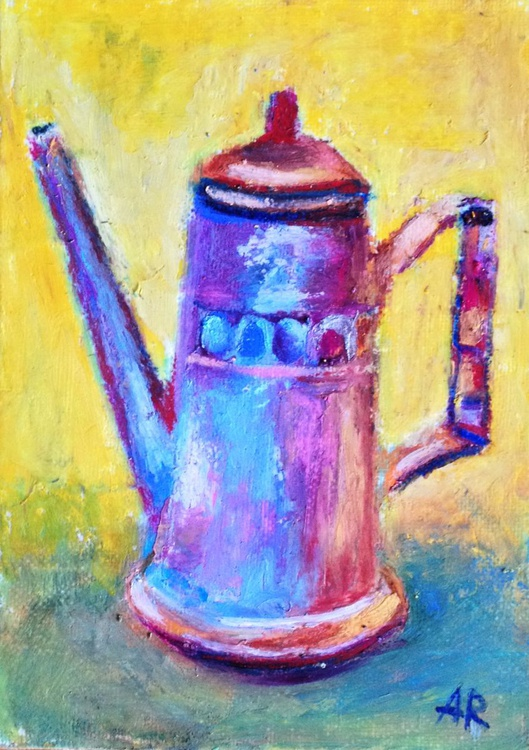 Old coffee pot - Image 0