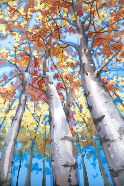 3D Tall Birch  tree - Image 0