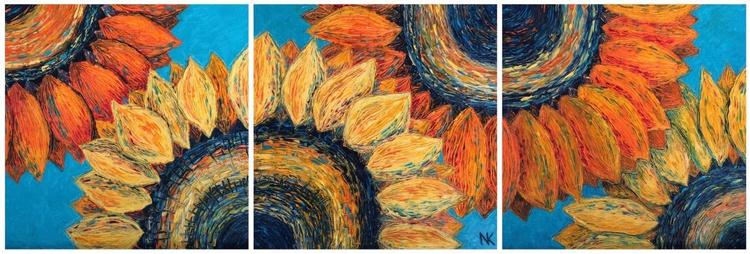 Sunflower Triptych - Image 0