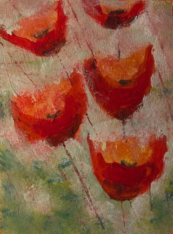 Vibrant Poppies (3) - Image 0