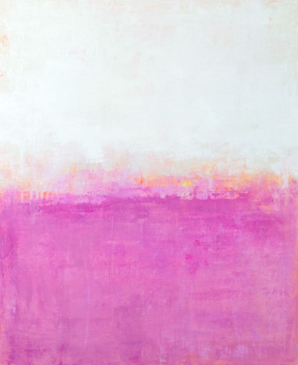 Pink Splash 24x30 inches - Image 0