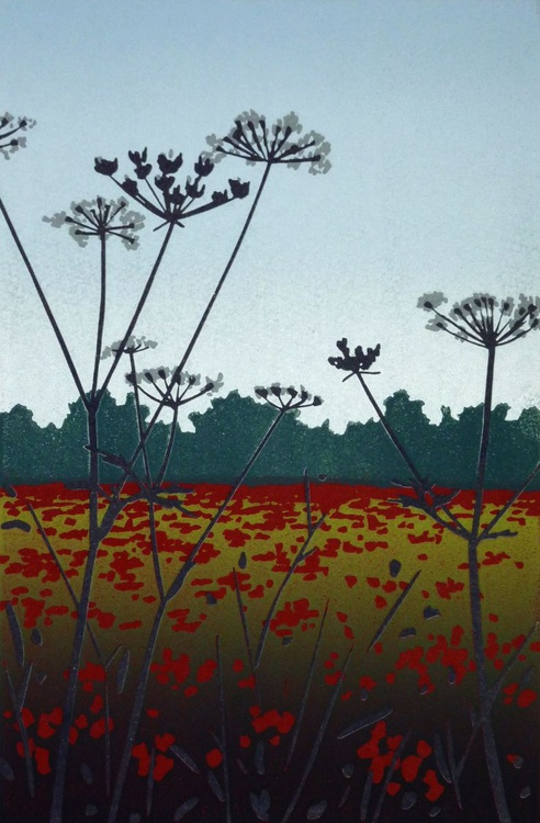 Poppies and Tall Parsley - Image 0