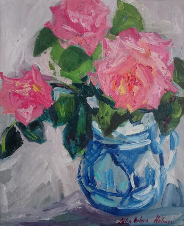 Roses from an old cottage - Image 0