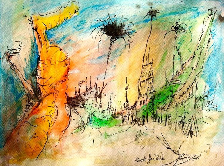 Drawings 'Quest for Zelda' - Image 0
