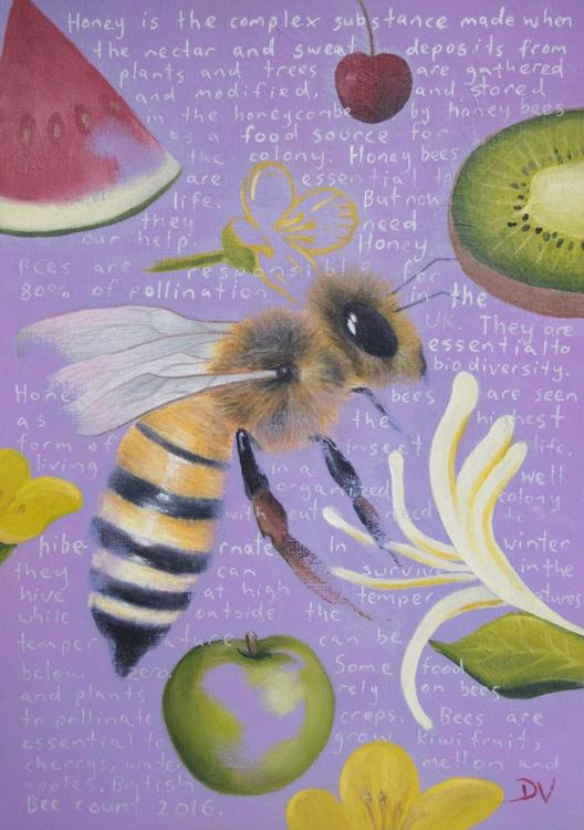 Honey Bee - Apis Mellifera - Image 0