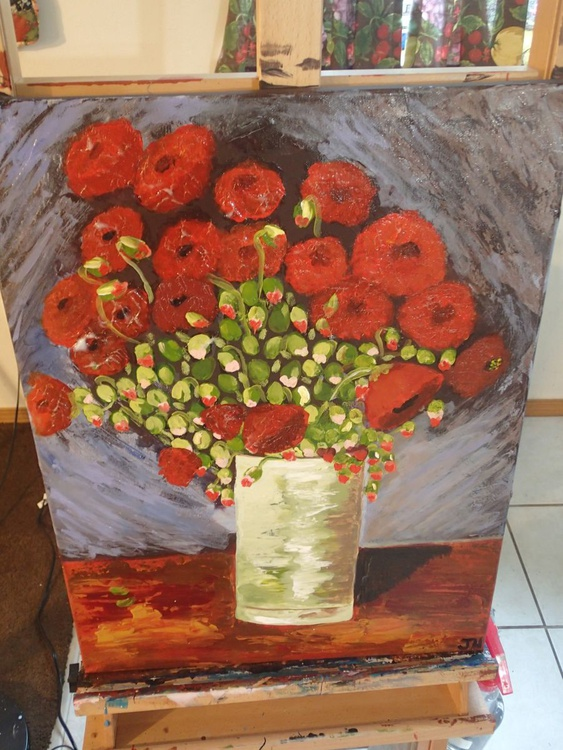 """Van Gogh's Red Poppies"" - Image 0"