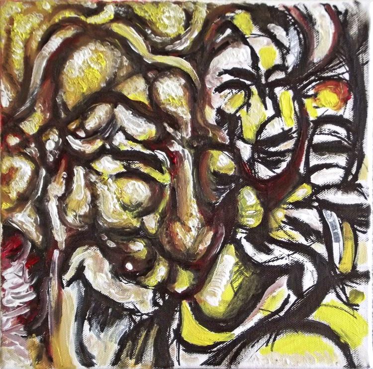 Illusionistic figure - Face combination #9 - THE  GIGGLE - Image 0