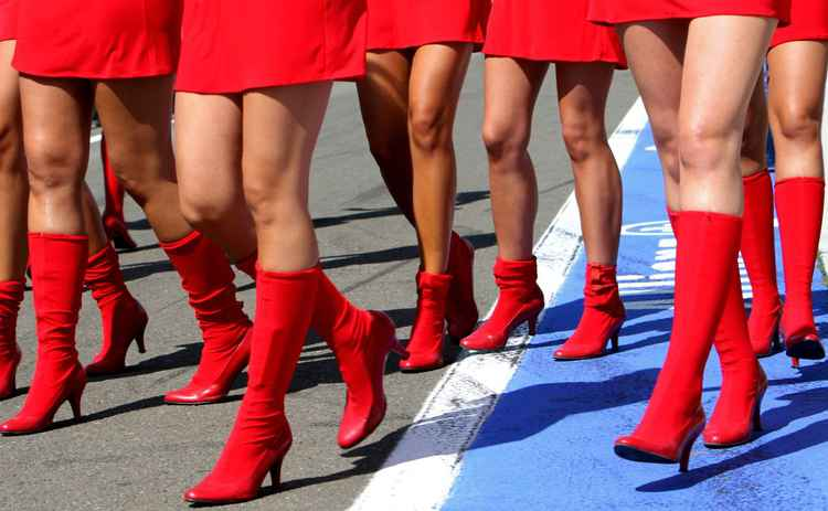 GRID GIRLS -