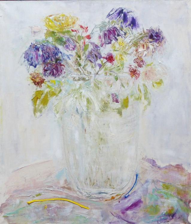 Flowers, 50x70 cm - Image 0