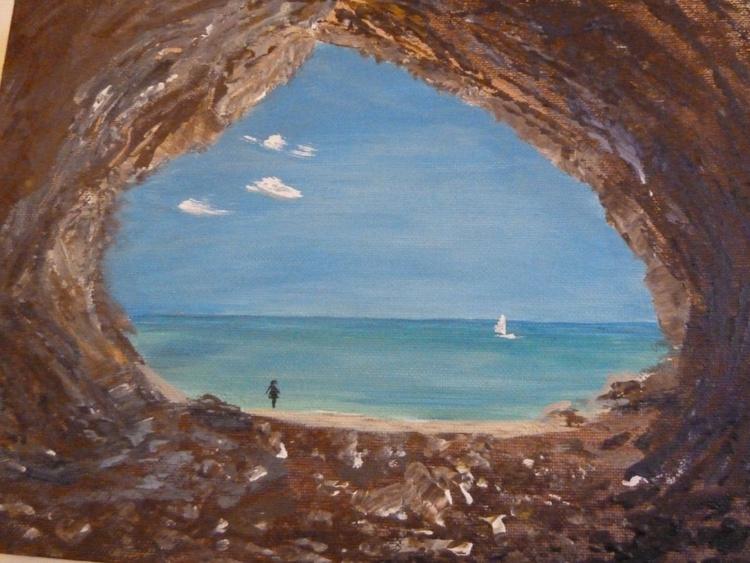 Sea Heart. Romantic painting - Image 0