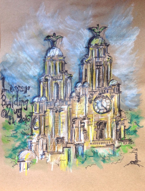 Liver Building, Three Graces, Liverpool - Image 0