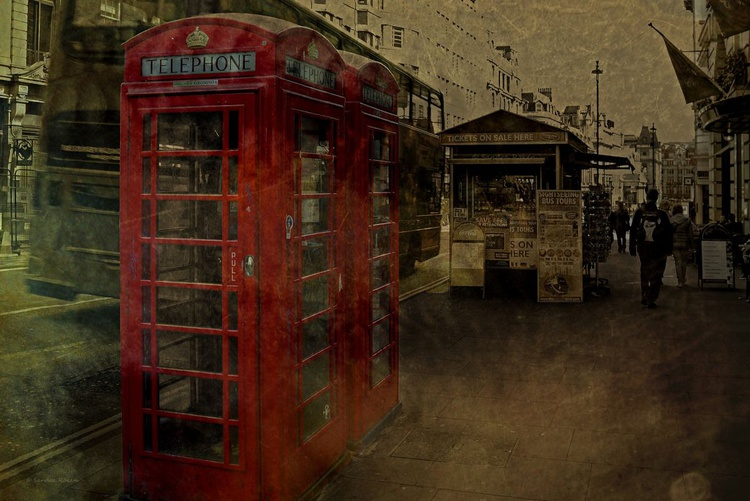 London / Phone Box - DIN A4 - Image 0