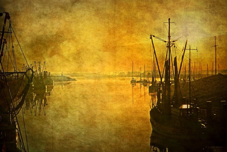 Inspired by J.A. Grimshaw - Canvas 75 x 50 cm - Image 0