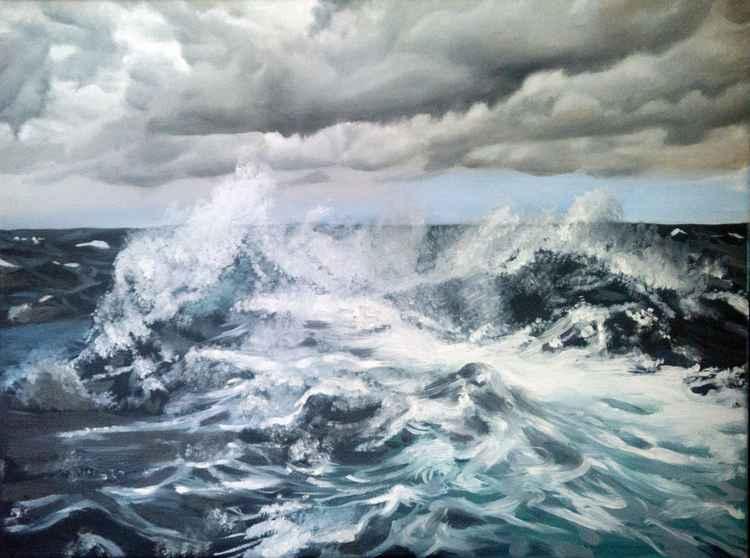 Stormy Sea -