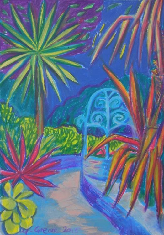 Mediteranean garden - Image 0