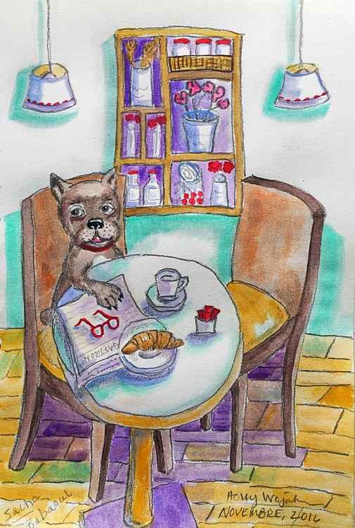 """Le Cafe, ce Matin""... -"