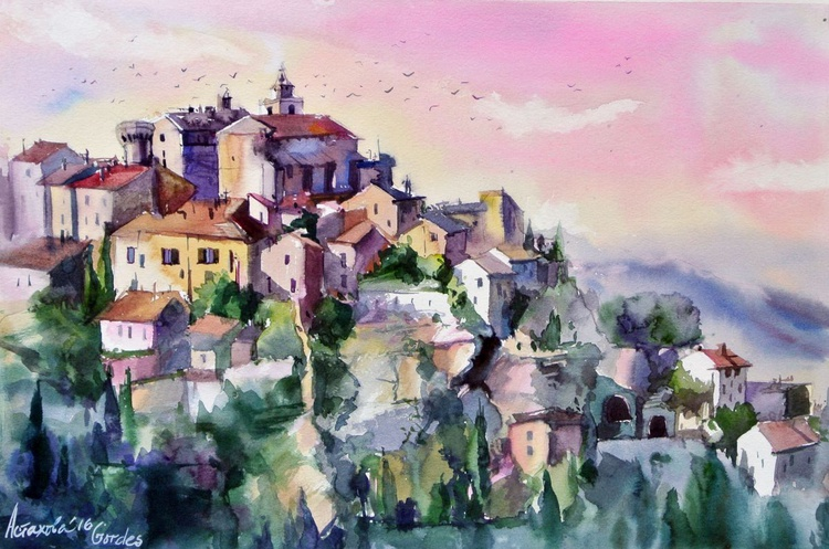 A Sunset in Gordes - Image 0