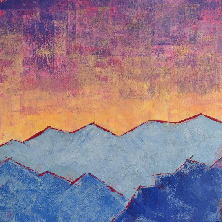 Mountainside Sunset - Image 0