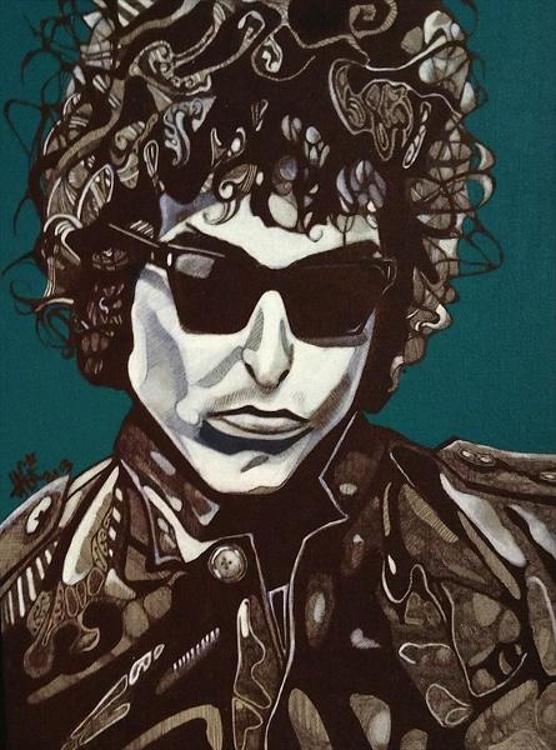 Bob Dylan Illustration - Image 0
