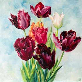"""Tulips, 2015"" by Daria Galinski"