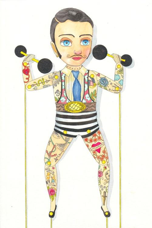 Circus : Strong man - Image 0
