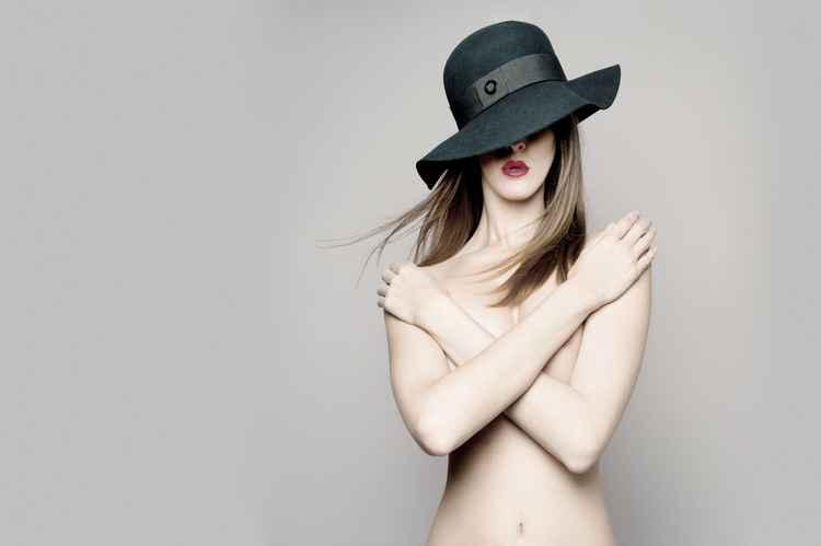 The Hat (24x16 print) -