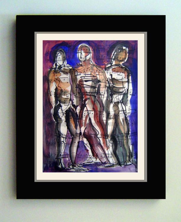 Three Male Figures - Image 0
